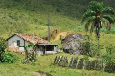 A traditional Brazilian 'caipira' farm
